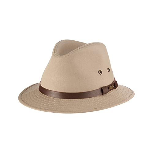 b38bf5ad97c Stetson Men s Gable Rain Safari Hat