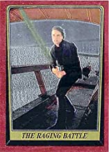 Luke Skywalker trading card Mark Hamill Star Wars Return of Jedi Topps Heritage Chrome 1999#70 Light Saber