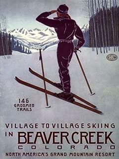 BEAVER CREEK COLORADO VILLAGE TO VILLAGE SKIING GRAND MOUNTAIN RESORT WINTER SPORT 16