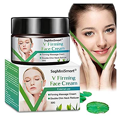 Face-Lifting Cream,V Face Cream,Resilience Lift Firming and Sculpting Face and Neck Cream,V-Shaped Facial Lifting Thin Face Anti-Ageing Cream Moisturizer by Segminismart