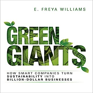 Green Giants audiobook cover art