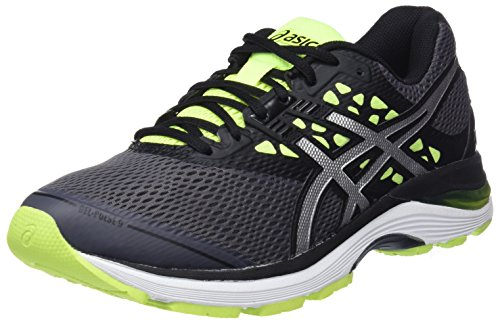 Asics Gel-Pulse 9, Zapatillas de Running para Hombre, Multicolor (Carbon/Silver/Safety Yellow 9793), 42 EU