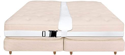 HEYJUDY Kit conversor para cama Twin to King de fibra de poliéster, 800 cm de comprimento, alça para cama para reuniões de...