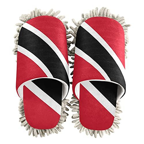 Trinidad y Tobago - Zapatillas de limpieza unisex con la bandera de Trinidad y Tobago