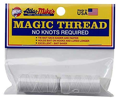 Atlas Mike's 66021 Magic Thread Spool (2 per Bag), White