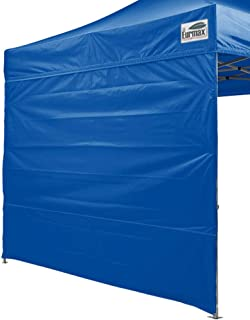Eurmax Instant Canopies Sidewall for 10x10 Pop up Canopy, 1 Pack Only (Blue)