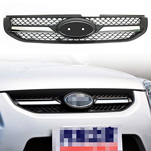 ACEOLT Frontales Rejilla de radiador Rejilla de repuesto para parrilla central delantera de automóviles para Kia Sportage 2007 2008 2009 2010 2011 2012