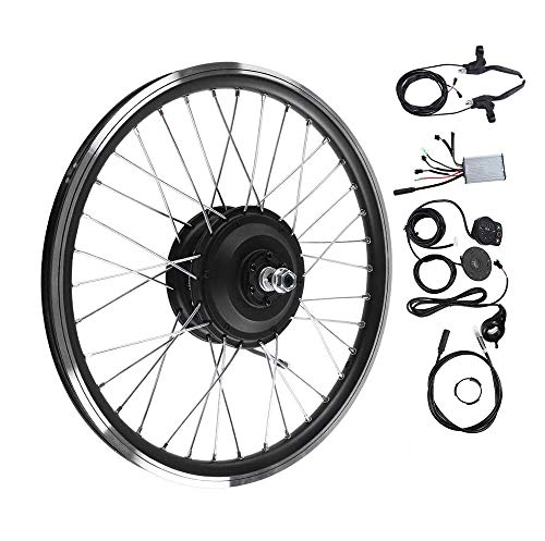 "ZLM 36V / 48V 250W E-Bike E-Bike Conversion Kit, Fahrrad Umrüstsatz 26 ""Front/Rear Wheel Umrüstsatz mit LED Dispaly bicyc,48V Front Motor"