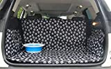 """1.TRUNK CARGO LINER SIZE - 155cm x 104cm x 33cm/61"""" x 41"""" x 13""""(L*W*H), this dog trunk cover designed to universally fits most standard vehicles areas. However please measure your vehicle cargo area for best fit. 2.EASY TO INSTALL - It will take you ..."""