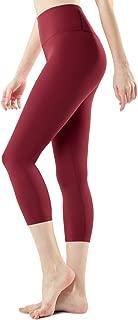 TSLA Yoga 21 inches Capri ATY High-Rise Tummy Control w Pockets