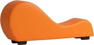 Amazon.com: Sillón moderno de piel, silla para yoga ...