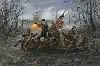 LordsArt Crossing The Swamp by Jon McNaughton - 10x15 Unframed Litho Print