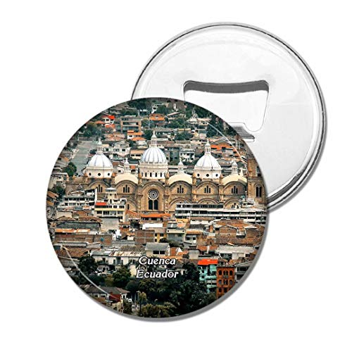 Weekino Fridge Magnets Ecuador Cuenca Cathedral Bottle Opener Beer Magnet Travel Souvenir Collection Gift