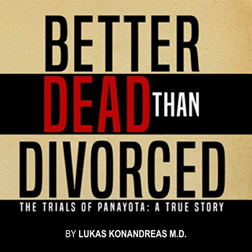 Better Dead Than Divorced audiobook cover art