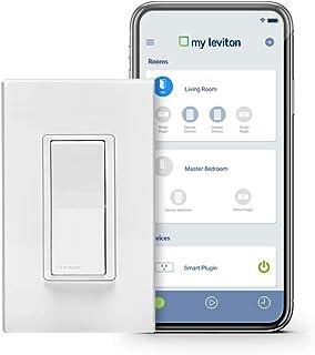 Leviton DW15S-1BZ Decora Smart Wi-Fi 15A Universal...