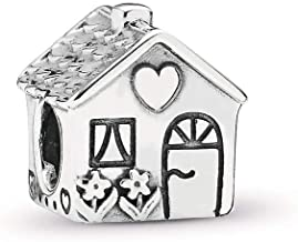 PANDORA Home, Sweet Home Charm, Sterling Silver, One Size
