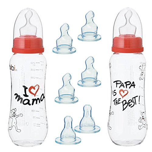Bibi botellas Sets Mama//Papa Doppelpack