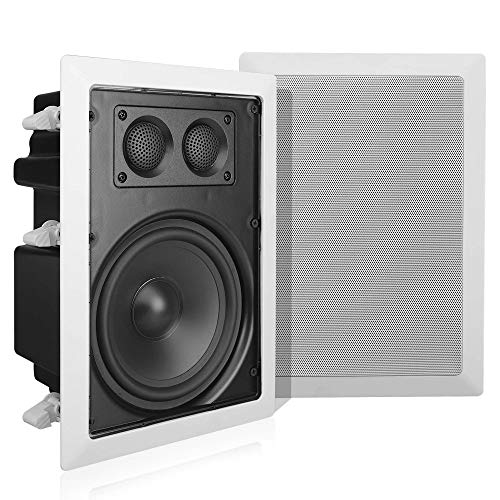 Learn More About Pyle In-Wall / In-Ceiling Dual 6.5'' Enclosed Speaker Systems, 2-Way Flush Mount St...
