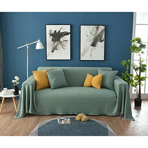 BINGMAX Überwurfdecke Baumwolle Modischer Geometrisches Muster Wohndecke Tagesdecke Sofa Bett Decke