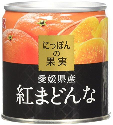 国分 K&K にっぽんの果実 愛媛県産 紅まどんな 缶185g [1278]