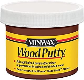 Minwax Wood Putty Jar 3.75 Oz Chestnut, Red, Red Mahogany, Red Oak, Sedona Red by Minwax