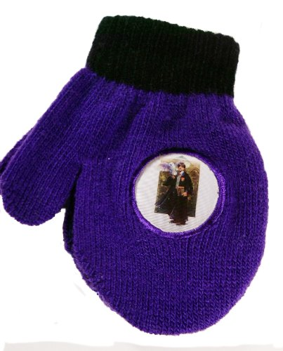 Harry Potter Purple Black Mittens with 3-D Changing Image for Children