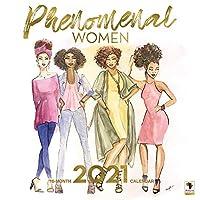 アフリカ系アメリカ人の表現 - 2021 Phenomenal レディースカレンダー - 壁掛けカレンダー