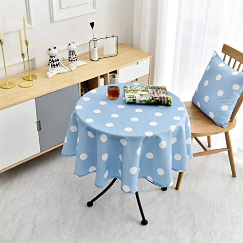 Round Table Cloth, Restaurant And Hotel Household Round Table Cloth Printed Round Table Cloth Diameter140cm