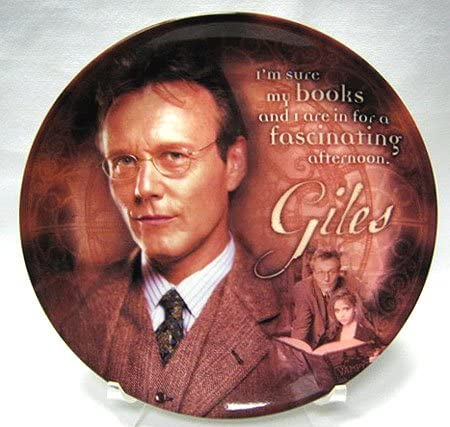 Buffy the Vampire Slayer Series 2 UK Plate: 4 years warranty Im Giles - Collector Latest item