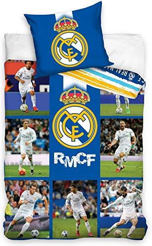Real Madrid F.C. Funda Nórdica Jugadores 140x200 Azul
