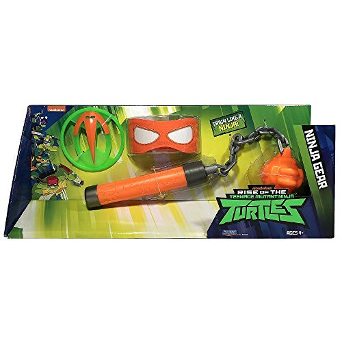 Giochi Preziosi Teenage Mutant Ninja, Turtles Rise Off, Set Armi Ninja, Michelangelo's Kusarigama