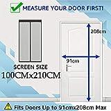 Zoom IMG-1 thefitlife zanzariera magnetica per porta