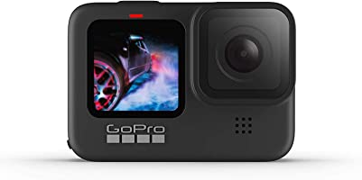 GoPro HERO9 Action Camera Black, Waterproof with Front LCD and Touch Rear Screens, 5K Ultra HD Video, 20MP Photos, 1080p...