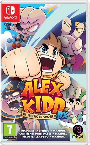 Alex Kidd in Miracle World DX (Nintendo Switch)