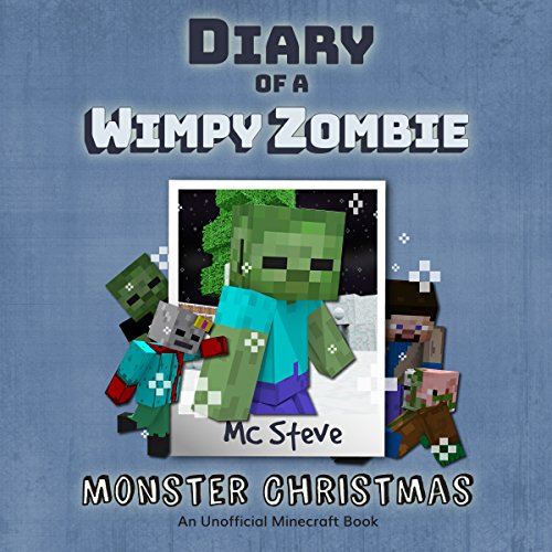 Monster Christmas audiobook cover art