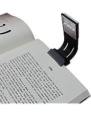 Clip Leeslicht, Areson Stoere Schakelaar 4 Niveaus Helderheid LED Boek Licht Multifunctioneel als Bladwijzer Bureau & Bed Lamp voor Lezen met Soft Cover en Hard Cover Boeken, Tijdschriften, eReaders, enz.