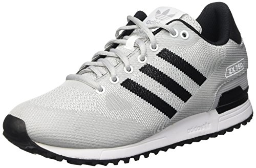 Adidas Zx 750 Wv Scarpe Low-Top, Uomo, Bianco / Nero / Grigio (Ftwbla / Negbas / Onicla), EU 39 1/3 (UK 6)