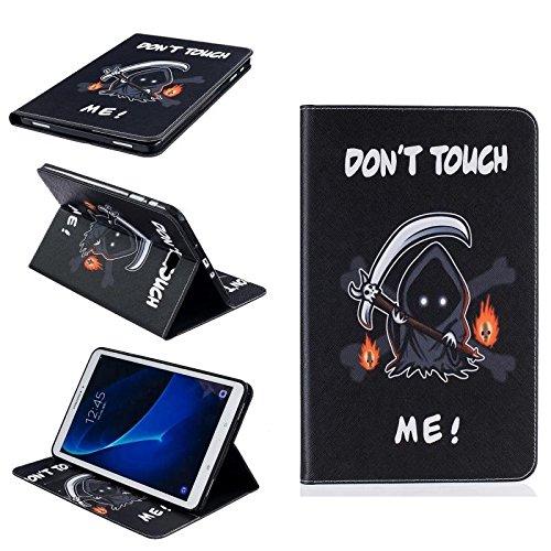 Galaxy Tab A6 10.1 ' funda, Slim - carcasa para Galaxy Tab A T580/T585 - Funda con función de atril para Samsung Galaxy Tab A6 10.1' SM-T580 T585 Tablet Cover (diablo)