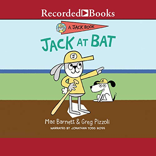 Jack at Bat audiobook cover art