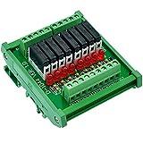 ELECTRONICS-SALON Slim montaje en riel de DIN DC5V fuente/PnP de módulo de relé de 8 SPS...