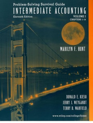 Download Intermediate Accounting, Chapters 1-14 , Self-Study Problems/Solutions Book Volume 0471226408