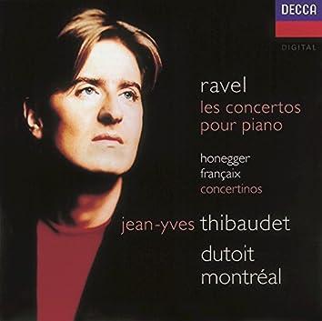 Ravel: Piano Concertos/Honegger: Piano Concertino/Françaix: Piano Concertino