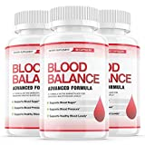 (3 Pack) Blood Balance Advanced Formula Shark Tank Pills, Blood Balance Advance Boost Capsules - Sugar Balance Supplement for High Blood Pressure - Natural Pressure Monitor for Nutrition 180 Capsules