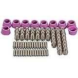 SG-55 AG-60 Cortadores de plasma consommables Kit de puntas 0,9 40Amp 22pcs