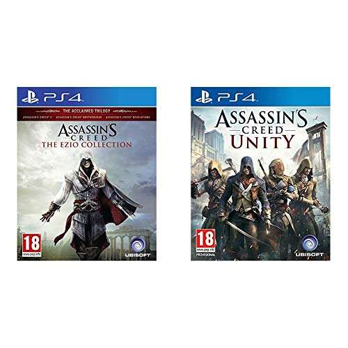 Assassins Creed The Ezio Collection (PS4) & Assassin's Creed: Unity
