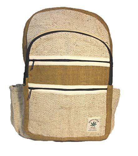Rucksack aus Hanf, cultbagz Premium Nepal in Handarbeit