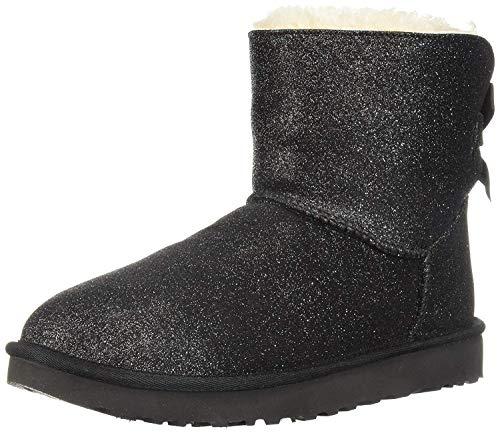 UGG Australia Damen Stiefeletten Mini Bailey Bow Sparkle Boot 1100053-BLK schwarz 574158
