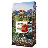 Java Planet, Organic Coffee Beans, Colombian Single Origin, Low Acid, Gourmet Medium Dark Roast of Arabica Whole Bean Coffee, Certified Organic, Bird Friendly & Rainforest Alliance, Non GMO,1LB Bag
