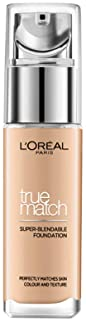 L'Oreal Paris, True Match Foundation 3D3W Golden Beige