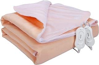 Manta eléctrica de gran tamaño, tela no tejida, regulación de temperatura segura, protección de sobrecalentamiento, manta calefactora adecuada para dormitorios familiares (200 * 180 cm)